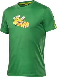 Mavic T-Shirt Yellow Car Medium Green