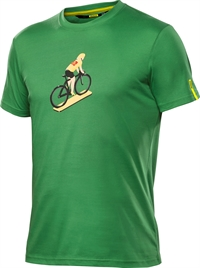 Mavic T-Shirt LE CYCLISTE Medium Green