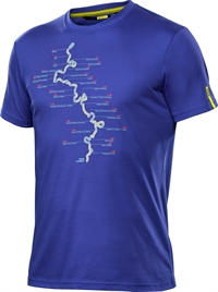 Mavic T-Shirt Paris-Roubaix Clematis Blue