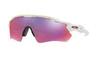 Oakley Radar EV Path TDF Matte White Prizm Road